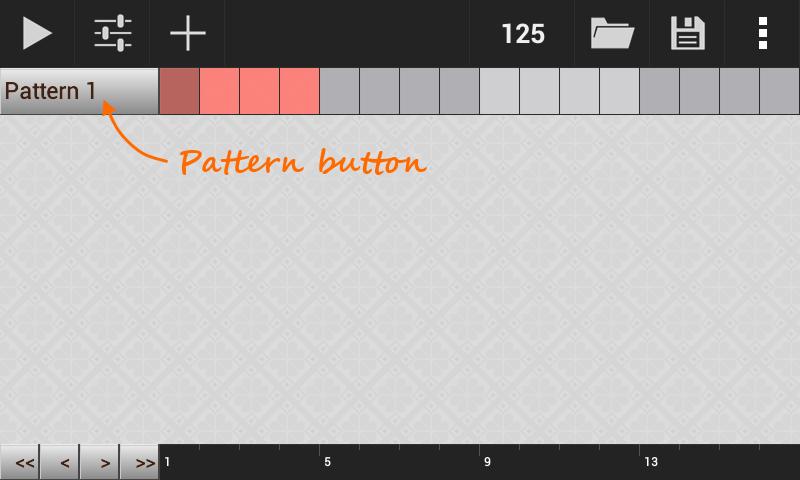 create pattern loop